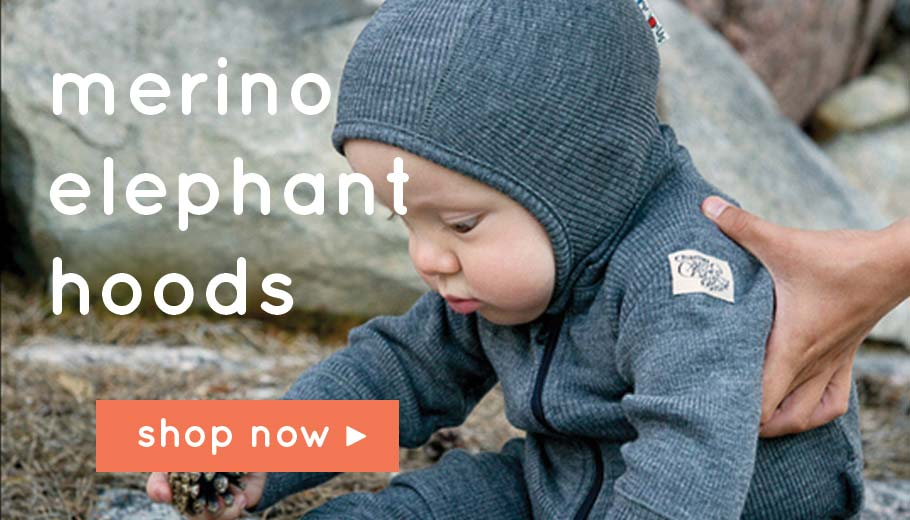 Merino Elephant Hoods - The Hats that don't come off