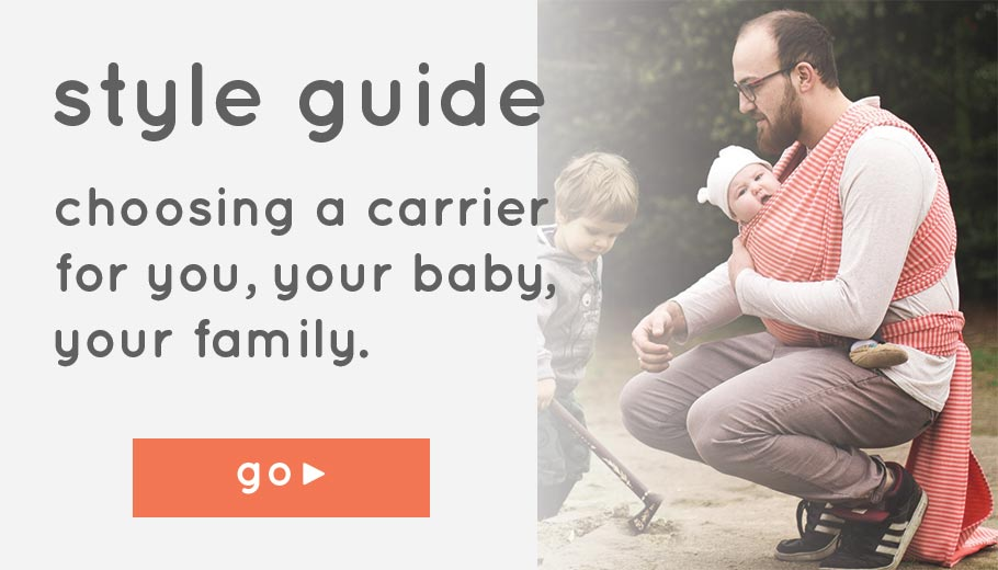 A Guide to Slings and Baby Carriers