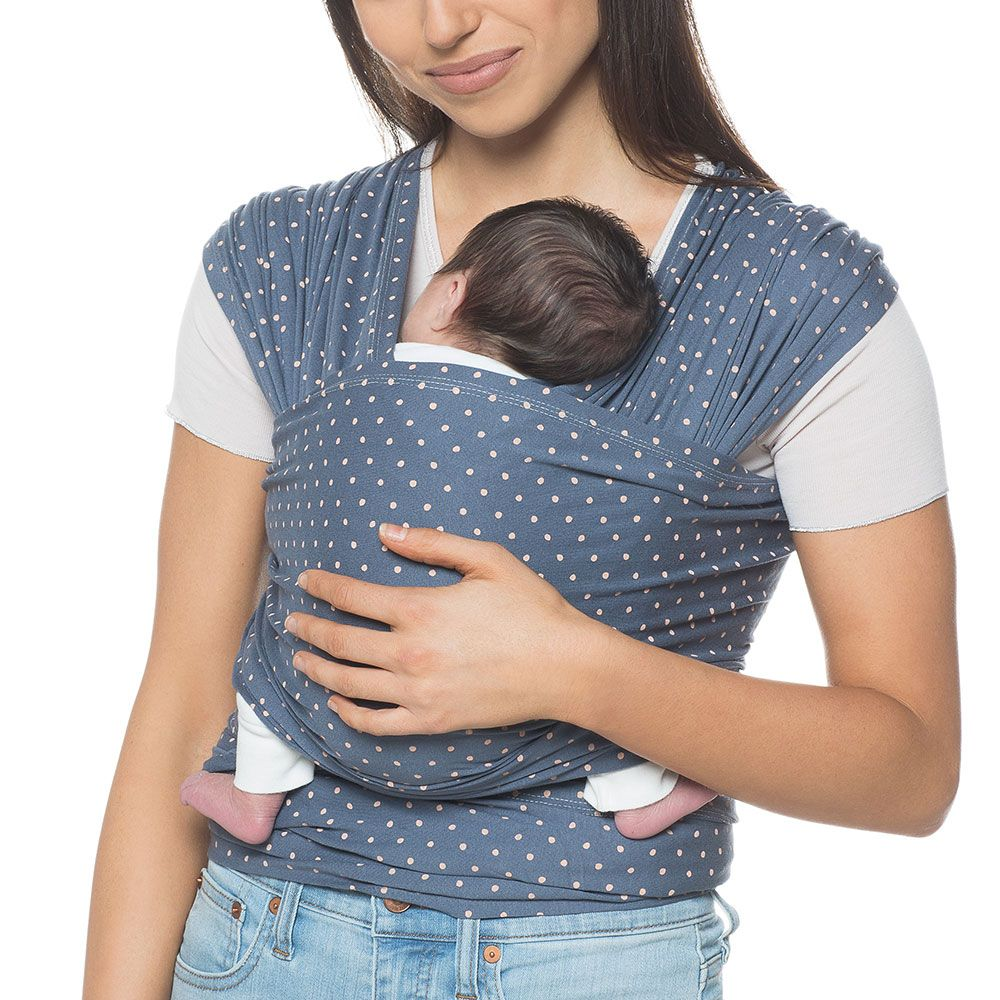 680d1ebbfd0 Ergobaby Aura Baby Wrap Coral Dots - Buy With Free Next-Day UK Delivery