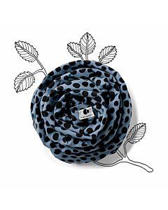 Coracor Baby Wrap Abstract Dot Blue
