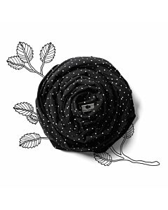 Coracor Baby Wrap Small Dot Black