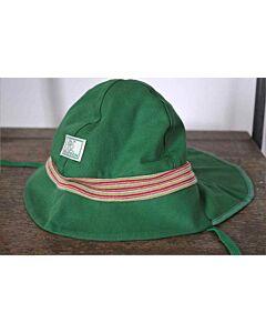 Pickapooh Fireman Hat Green Stripe UV 80