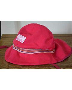 Pickapooh Fireman Hat Fuchsia Stripe UV 80