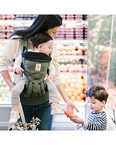 Ergobaby Omni 360 Baby Carrier All-In-One: Khaki Green