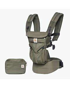 Ergobaby Omni 360 Baby Carrier All-In-One: Cool Air Mesh Khaki