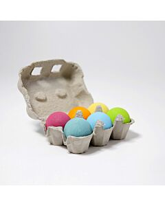 Grimm's 6 Pastel Wooden Balls