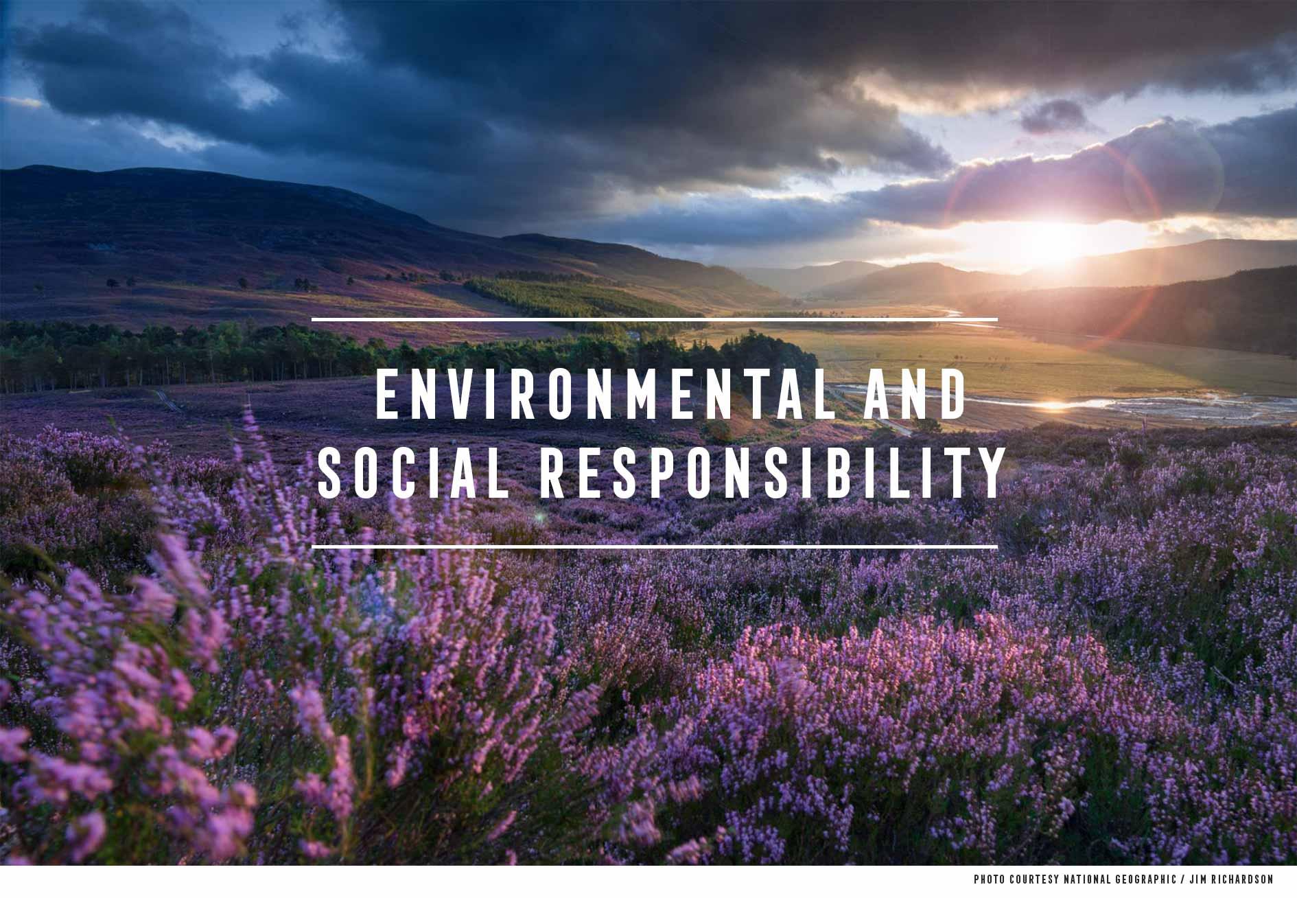 Social Environmental Responsibility