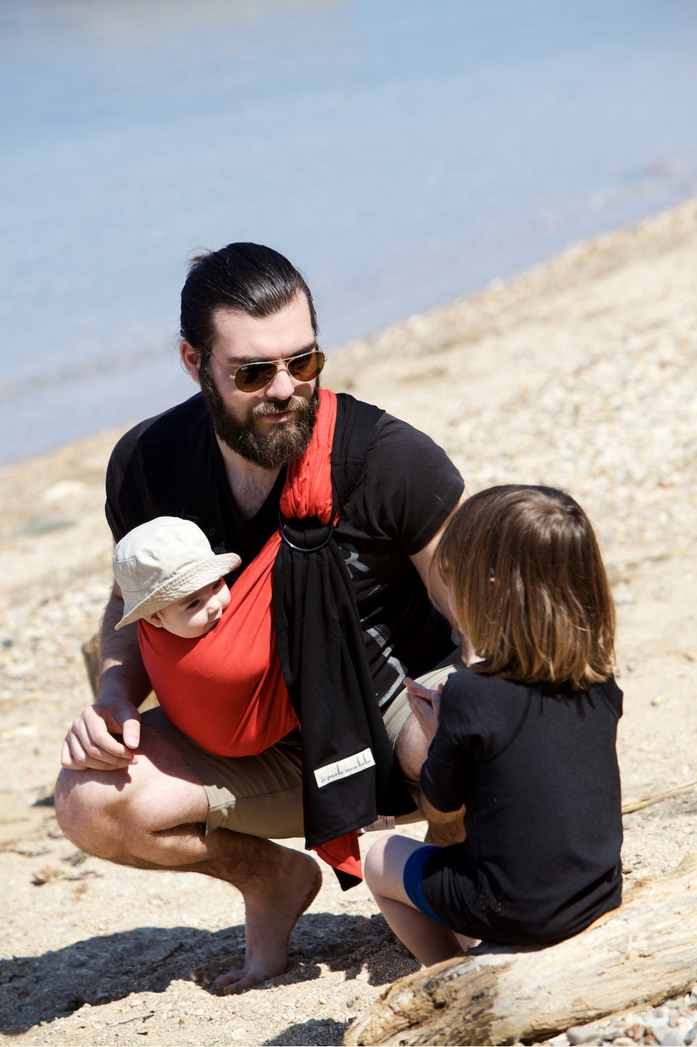 Using A Ring Sling In Summer and In Warm Weather