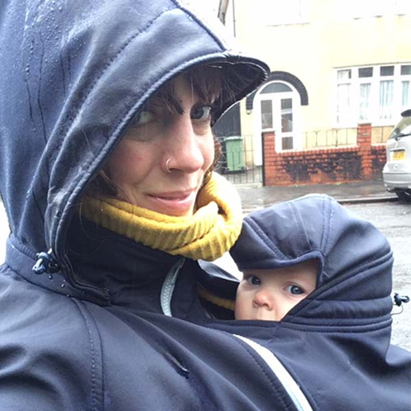 Buy the Mamalila Allweather Babywearing Jacket online in the UK