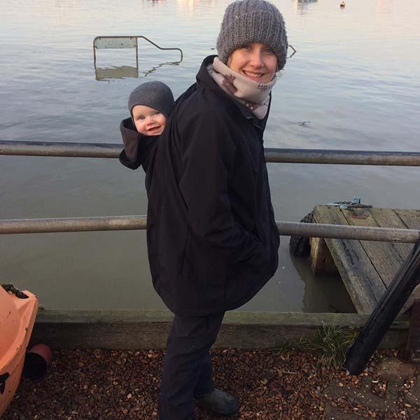 Buy the Mamalila Allweather Babywearing Jacket online in the UK