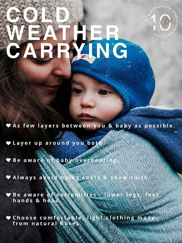 Babywearing In The Cold Blog