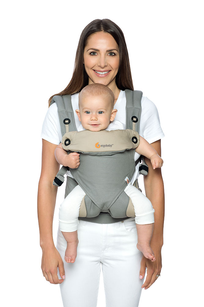 Ergobaby 360 Black Camel Parent Facing