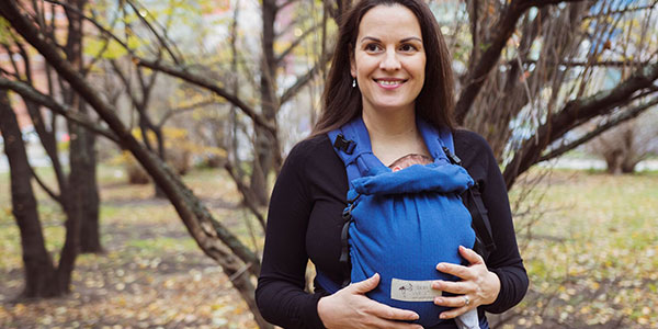 We are the exclusive stockists of Storchenwiege baby carriers, wraps and ring slings in the UK and Ireland