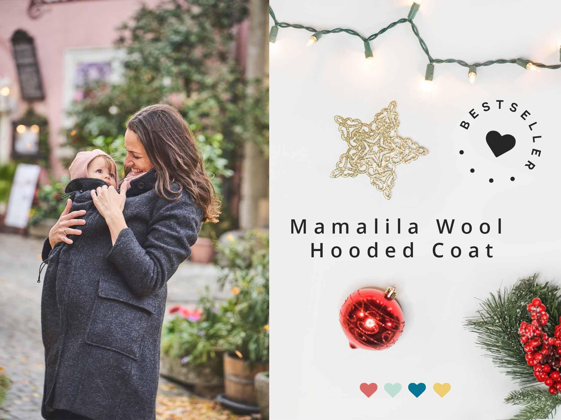 Mamalila Wool Hooded Coat